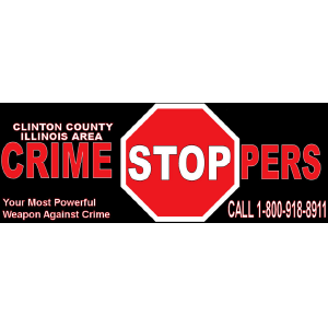 Clinton County Crime Stoppers Logo | Poettker Construction
