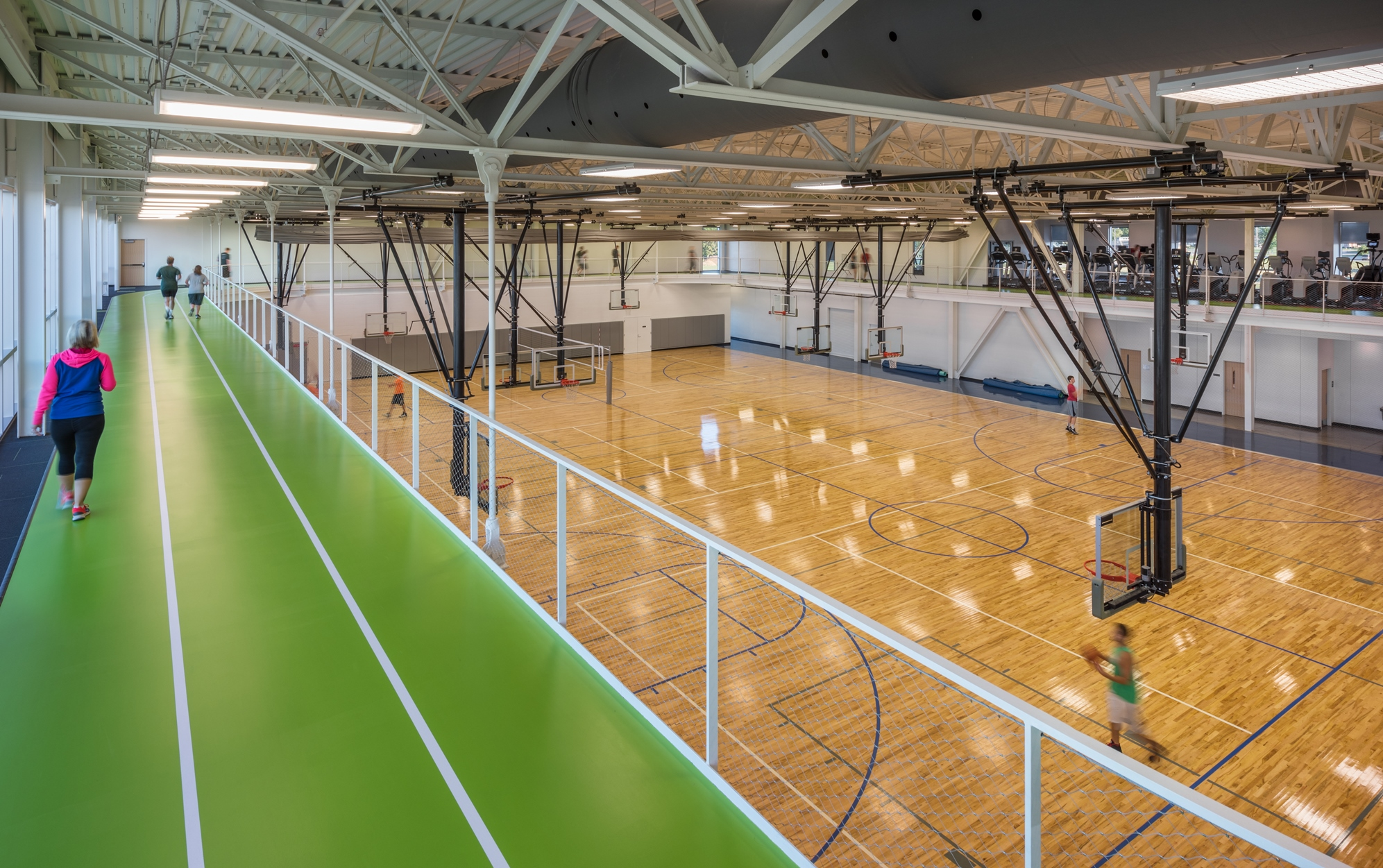 Workman Sports Complex Gym | Poettker Construction