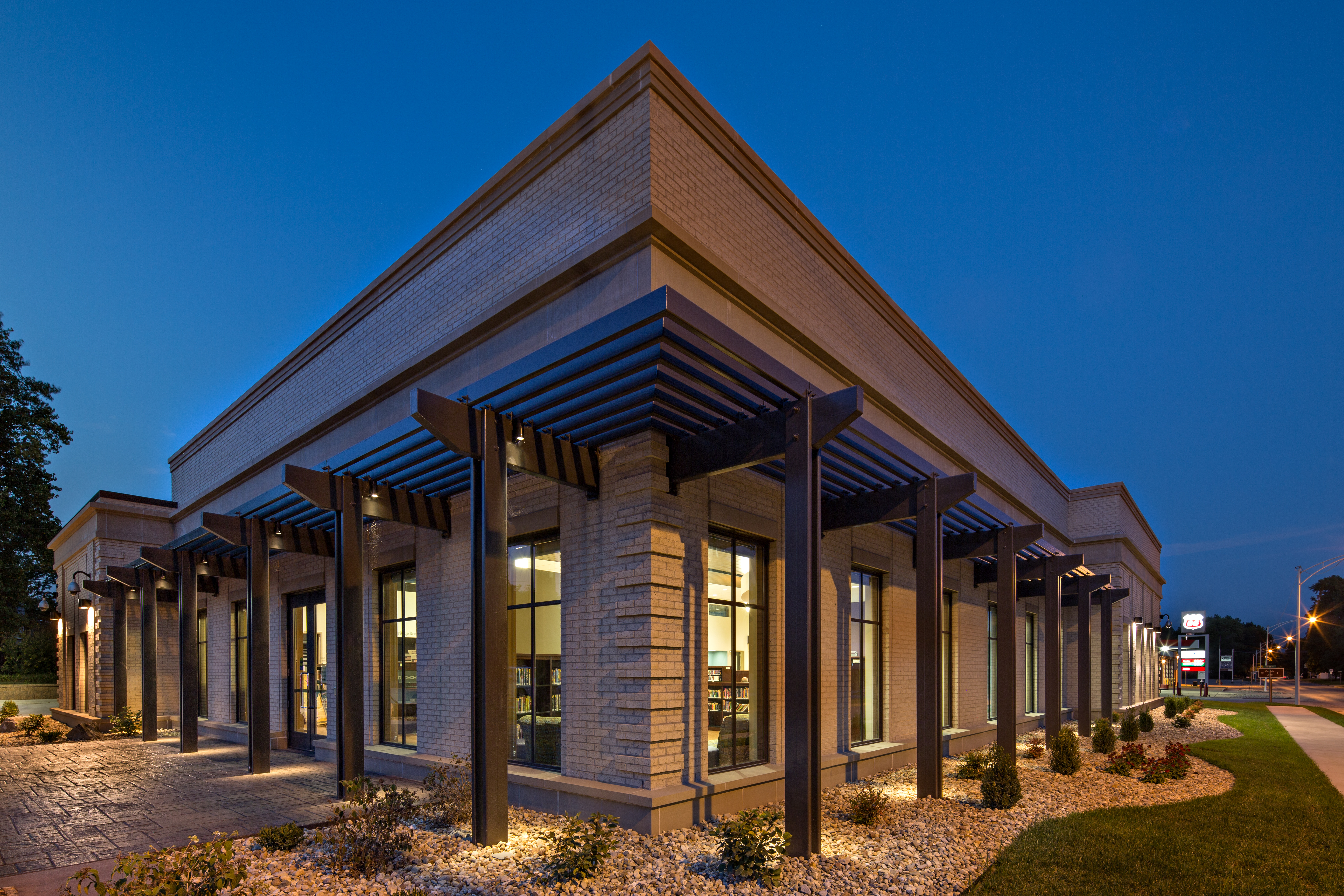 Case-Halstead Library | Poettker Construction