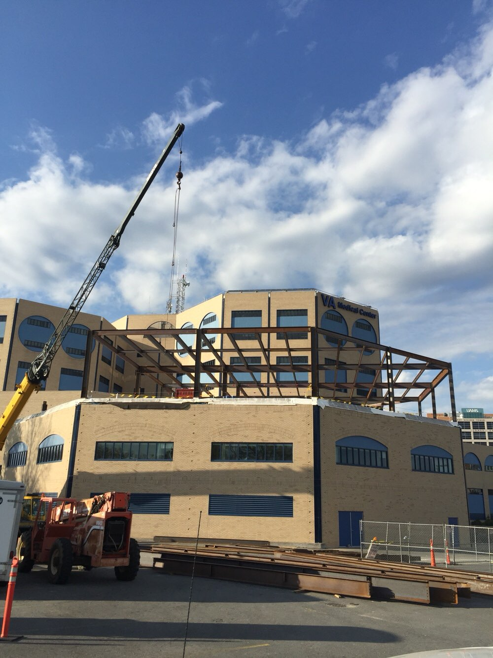John L. McClellan VA Hospital OR Suite Addition Under Construction | Poettker Construction