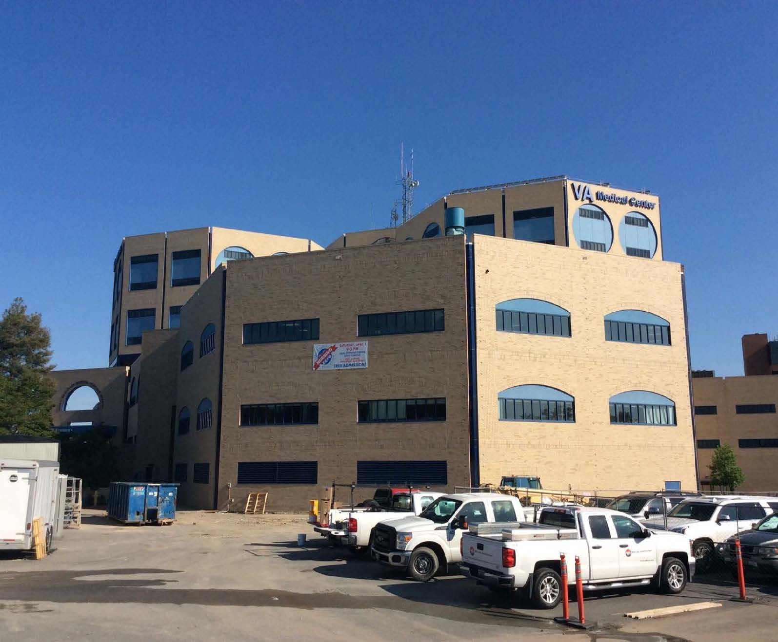 John L. McClellan VA Hospital OR Suite Addition Completed Exterior | Poettker Construction