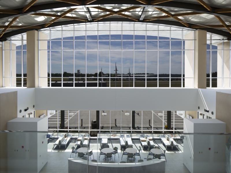 Veterans Airport Interior | Poettker Construction